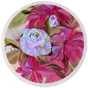 Promise Of Hope Round Beach Towel