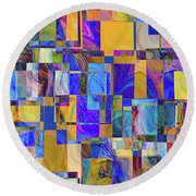 Quilted Dream Round Beach Towel