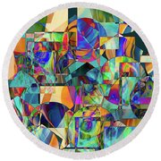 Quilted Memories Round Beach Towel