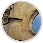 Reflection, Sarlat, France Round Beach Towel