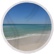 Relaxing Afternoon Round Beach Towel
