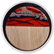 Resin-cutting Board 15 Round Beach Towel