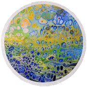 Resin-cutting Board 20 Round Beach Towel