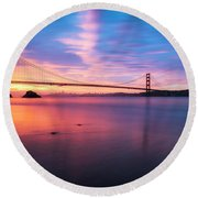 Rise With Me- Round Beach Towel