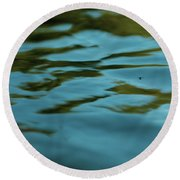River Ripples Round Beach Towel
