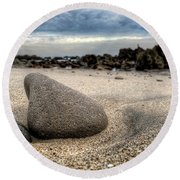 Rock On Beach Round Beach Towel