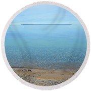 Rockhounder's Paradise Round Beach Towel
