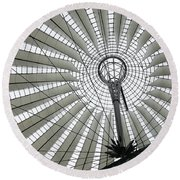 Roof Of Sails Round Beach Towel