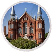 Sacred Heart Cultural Center - Augusta Ga Round Beach Towel