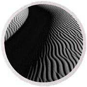 Sahara Dune II Round Beach Towel