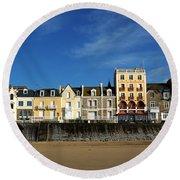 Saint Malo 14 Round Beach Towel