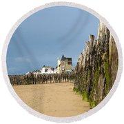 Saint Malo 9 Round Beach Towel