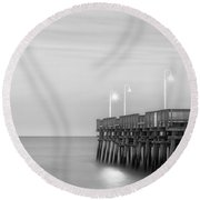 Sandbridge Minimalist Round Beach Towel
