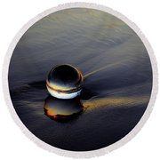Sea Glass Round Beach Towel