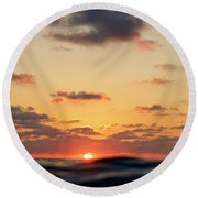 Sea Level Round Beach Towel