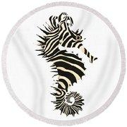 Seazebra Digital2 Round Beach Towel