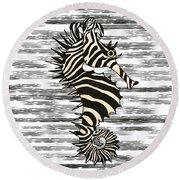 Seazebra Digital5 Round Beach Towel