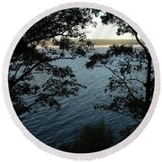Seneca Lake Round Beach Towel