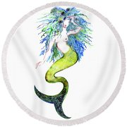 Sereia Round Beach Towel