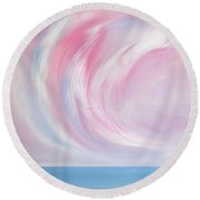 Serenity And Tranquility 2 Round Beach Towel