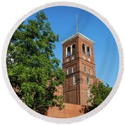 Sibley Mill Augusta Ga Round Beach Towel