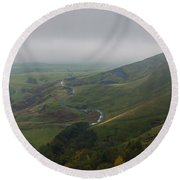 Shivering Mountain,  Round Beach Towel