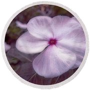 Small Flower Round Beach Towel