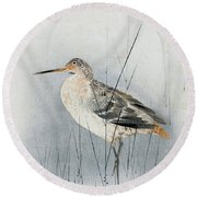 Snipe Round Beach Towel