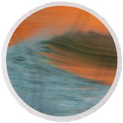 Soft Wave Round Beach Towel