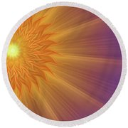 Song Of Solomon Round Beach Towel