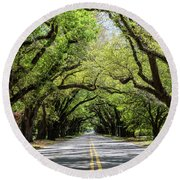 South Boundary Ave Aiken Sc Round Beach Towel