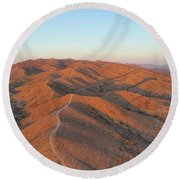 South Mountain Sunrise Round Beach Towel