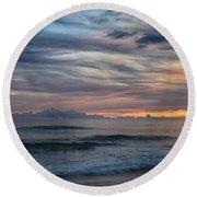 Splendor Before The Dark Round Beach Towel