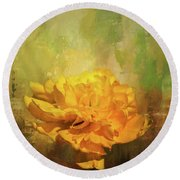 Spring Glory Round Beach Towel