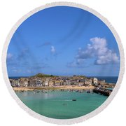 St Ives Cornwall - General View Round Beach Towel