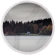 Stanley Park Vancouver Round Beach Towel