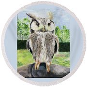 Steve Round Beach Towel