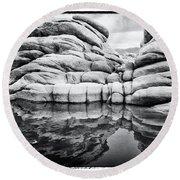Stoneworks Round Beach Towel