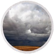 Storm's A-gathering Round Beach Towel