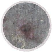 Round Beach Towel featuring the digital art Study Sheet by Attila Meszlenyi