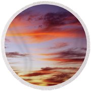 Summer Dreams Round Beach Towel