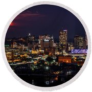 Super Cincinnati Round Beach Towel