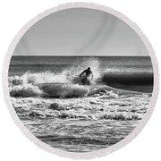 Surfer Dude Round Beach Towel