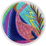 Surmounting  Round Beach Towel