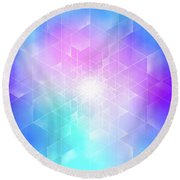 Synthesis Round Beach Towel