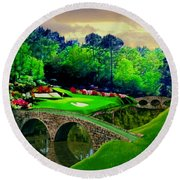 The Beauty Of The Masters 2 Round Beach Towel