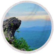 The Blowing Rock Round Beach Towel