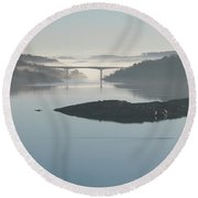 The Bridge Round Beach Towel