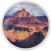 The Clearing Storm Round Beach Towel