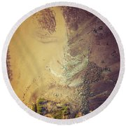 The Colours Of Longreef Round Beach Towel